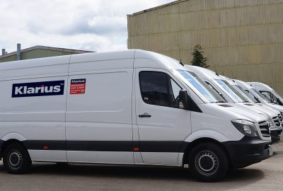 Klarius Delivery Van Fleet
