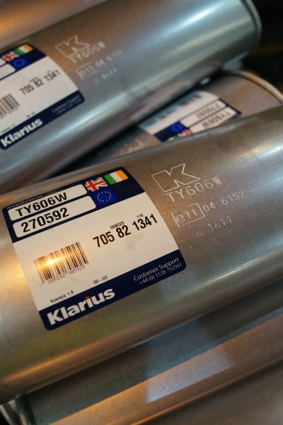 Klarius087 UK vehicles are illegal if not fitted with type-approved exhausts