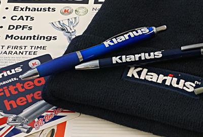 Klarius Promotional Items 400x270